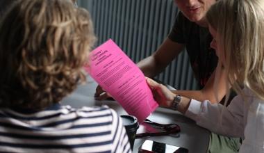 Se billederne: Verdensmål og dilemmaspil på Københavns Mediegymnasium