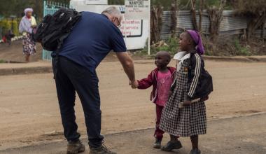 Kenyatur resulterede i tre globale skolepartnerskaber
